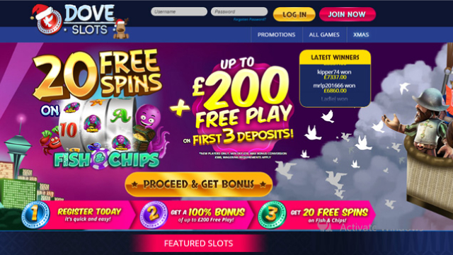 Dove Slots sister sites