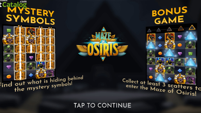 Maze of Osiris Relax Gaming Slot