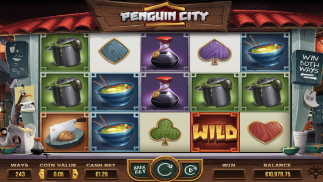 Penguin City Yggdrasil Slot
