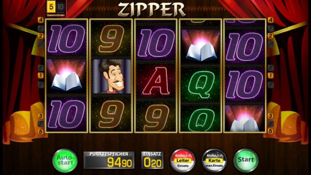 Zipper Edict Slot